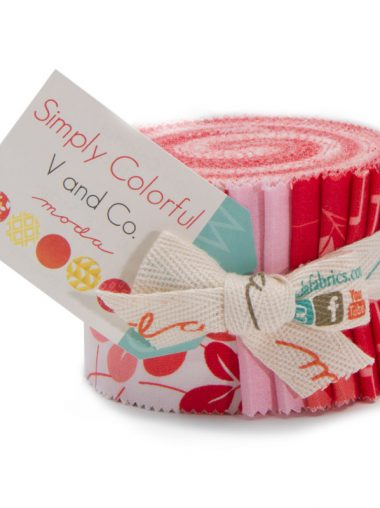 Moda Junior Jelly Roll - Simply Colorful Red