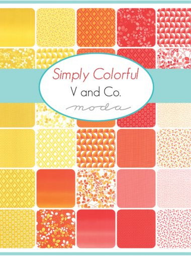 Moda Junior Jelly Roll - Simply Colorful Orange