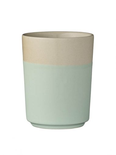 "Bloomingville Becher ""Sophie"" mint / beige"