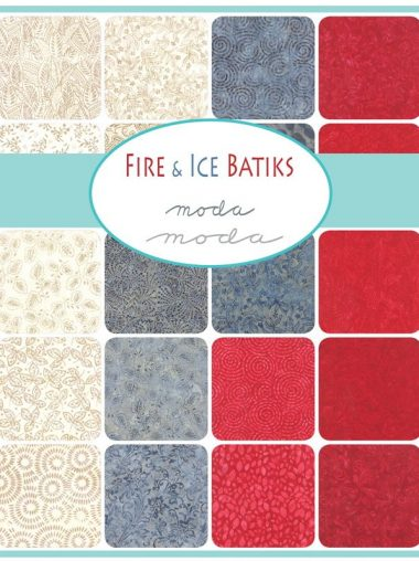 Moda Layer Cake - Fire & Ice Batiks