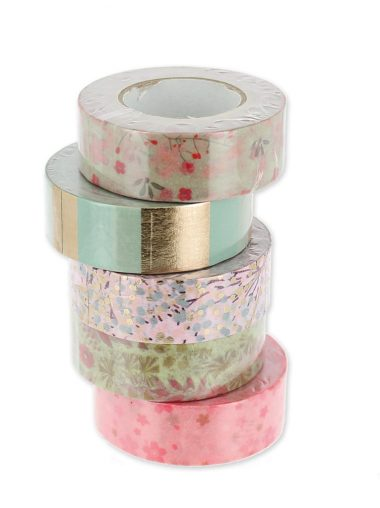 Paper Poetry – Bouquet Sauvage Masking Tape Set