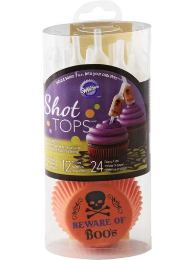 Wilton Shot Tops Pipetten-Set Mit Cupcake-Förmchen