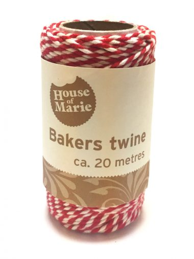 House Of Marie Bakers Twine – Bäckerzwirn – Rot