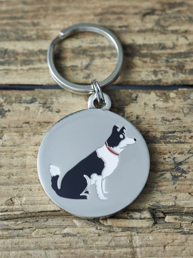 Sweet William – Dog Tag – Schlüsselanhänger – Hundemarke – Border Collie