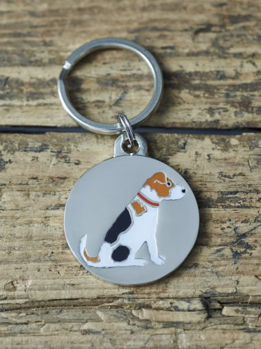 Sweet William – Dog Tag – Schlüsselanhänger – Hundemarke – Jack Russell