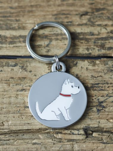 Sweet William – Dog Tag – Schlüsselanhänger – Hundemarke – Westie