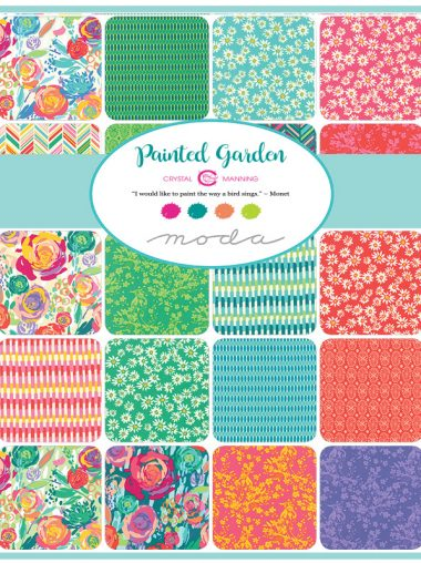 Moda Layer Cake - Painted Garden - Crystal Manning 11810LC