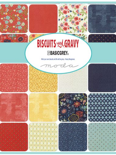 Moda Charm Pack - Biscuits And Gravy - BasicGrey 30480PP