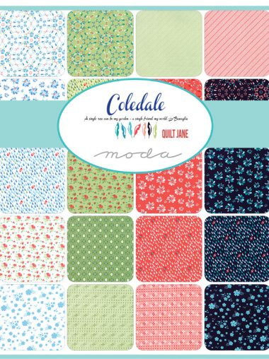 Moda Charm Pack - Coledale - Quilt Jane 47520PP